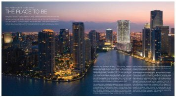 Epic Residences and Hotel. The Place to be - Epic Miami Condos