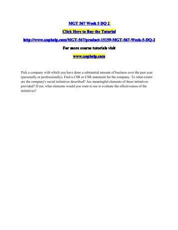MGT 567 Week 5 DQ 2.pdf