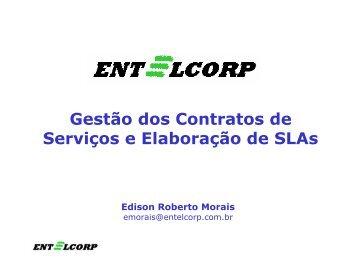 Gestão dos Contratos de Serviços e Elaboração de SLAs