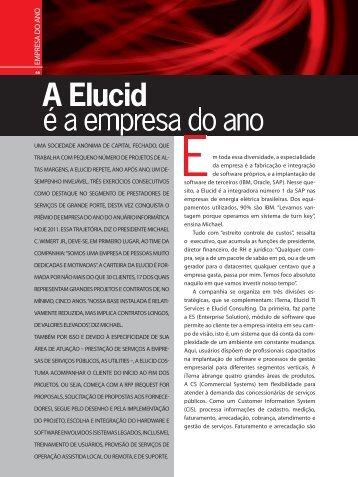 A Elucid é a empresa do ano