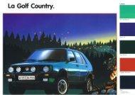 Page 1 Page 2 Lo Golf Country. Une Golf pour toutes les ...