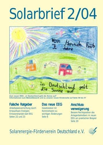 Solarenergie-Förderverein Deutschland e.V. - SFV