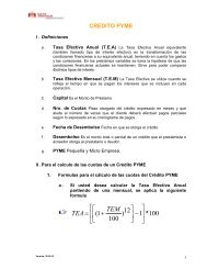 Calculo de la Cuota del Préstamo con Seguro Directo - Caja Trujillo