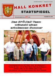 Doppelschule Schönegg - SPÖ Hall