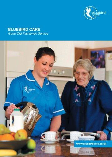 Bluebird Care Exeter & East Devon - Flip Brochure