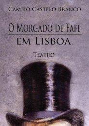 O MORGADO DE FAFE EM LISBOA