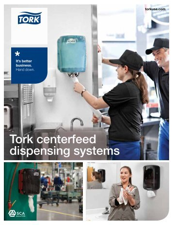 Tork centerfeed dispensing systems