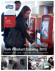 Tork Product Catalog 2013