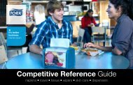 Competitive Reference Guide