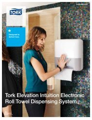 Tork Elevation Intuition Electronic Roll Towel Dispensing System