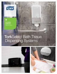 TorkSelect Bath Tissue Dispensing Systems