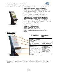Tork Xpressnap Stand Napkin Dispenser: N4 Xpressnap System ...