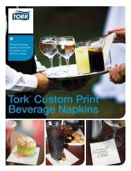 Custom Print Beverage Napkins