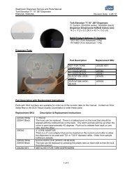 Washroom Dispenser Service and Parts Manual Tork Elevation T1 ...