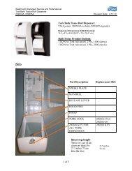 1 of 5 Tork Bath Tissue Roll Dispenser: T26 System: 209303A (white ...