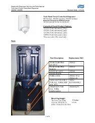 Tork Hand Towel Centerfeed Dispenser: M2 System: 302282 (quartz ...
