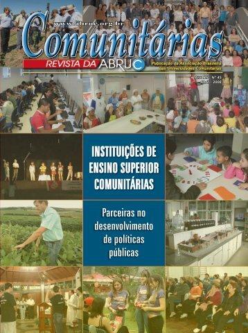 INSTITUIÇÕES DE ENSINO SUPERIOR COMUNITÁRIAS