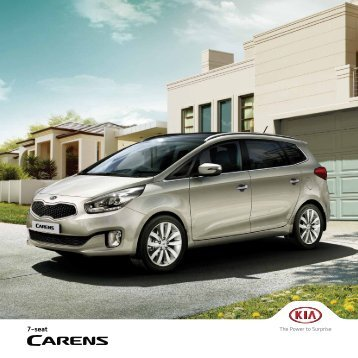 Kia Carens Brochure 2015