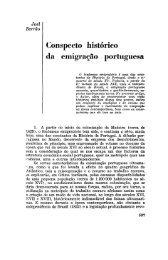 Conspecto histórico da emigração portuguesa