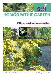 HOMÖOPATHIE GARTEN - SHI Haus der Homöopathie