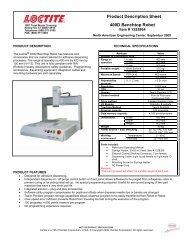Product Description Sheet 400D Benchtop Robot
