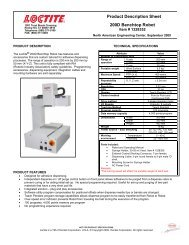 Product Description Sheet 200D Benchtop Robot