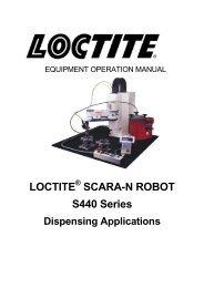 LOCTITE SCARA-N ROBOT S440 Series