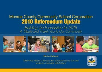 2010 Referendum Update
