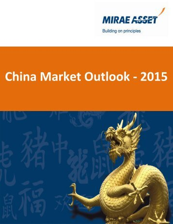 China Market Outlook - 2015