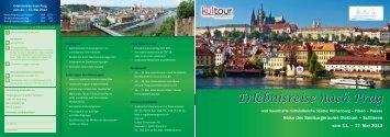 Erlebnisreise nach Prag