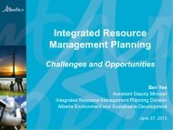 Integrated Resource Management Planning