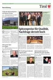 """Der """"wahre Bauernfreund"""" - Tiroler Bauernbund"""