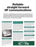 HF TRANSCEIVER - Page 2