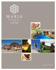 Listino 2012/2013 - Hotel Maria