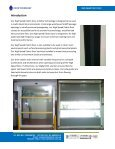Product Specification High Speed Fabric Door - Page 2