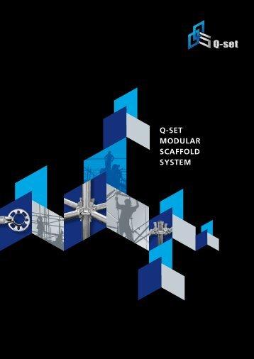 Q-SET MODULAR SCAFFOLD SYSTEM