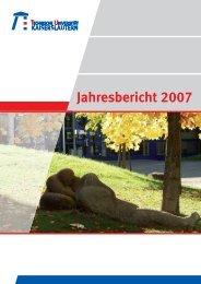 Jahresbericht 2007 - Universität Kaiserslautern