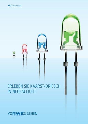 ERLEBEN SIE KAARST-DRIESCH IN NEUEM LICHT. - RWE AG