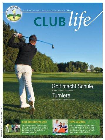 Turniere Golf macht Schule - Golfclub Berchtesgadener Land