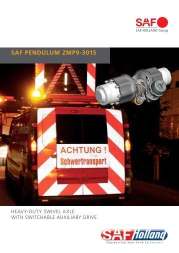SAF PENDULUM ZMP9-3015