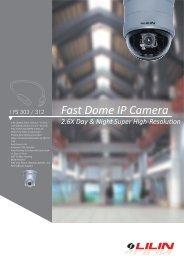 Fast Dome IP Camera