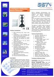 Intelligent Reflective Beam Detector