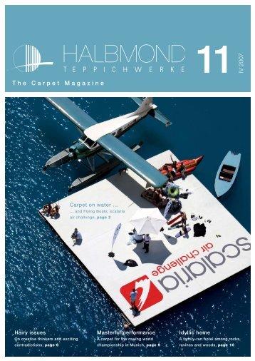 The Carpet Magazine 11 IV 2007 - Halbmond Teppichwerke GmbH