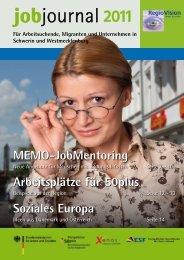 Jobjournal 2011 als pdf - RegioVision GmbH Schwerin