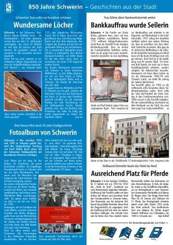 850 Jahre Schwerin - Hauspost