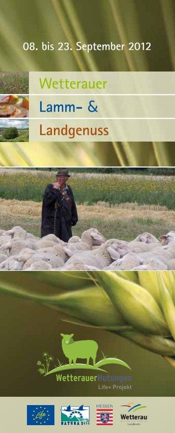 Wetterauer Lamm- & Landgenuss - Wetterauer Hutungen