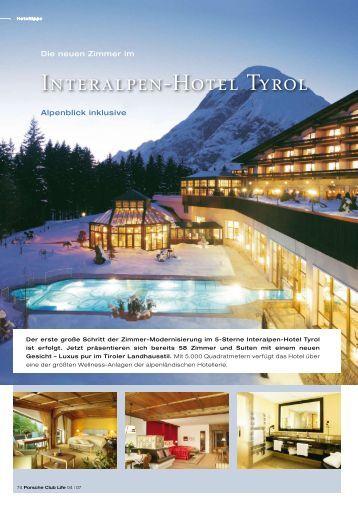 Interalpen-Hotel Tyrol - Porsche Club Deutschland