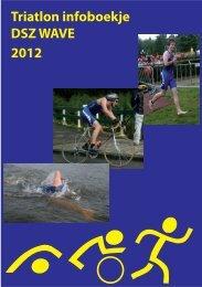 Triatlon infoboekje DSZ WAVE 2012