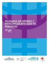 Igualdad de género y principales brechas en Paraguay