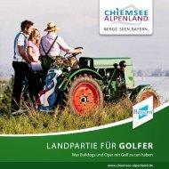 Golfen im Chiemsee-Alpenland (PDF) - Tagungen - Chiemsee